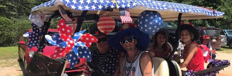 <h2 style='color:#FFFFFF !important;                                              '>July 4th golf cart parade </h2>                                             <span class='slideDesc'></span>